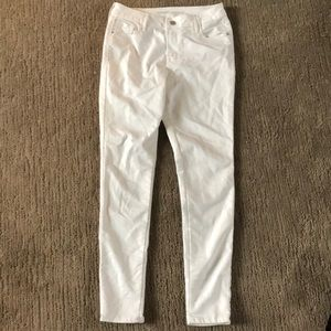 Old Navy white womens jeans